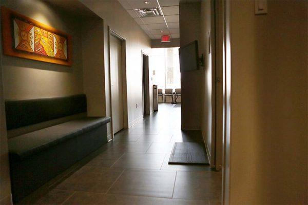 Chiropractic Waiting Area